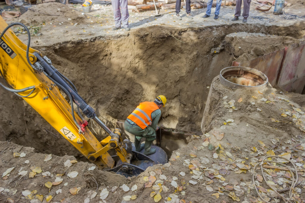construction accident attorneys trench collaps